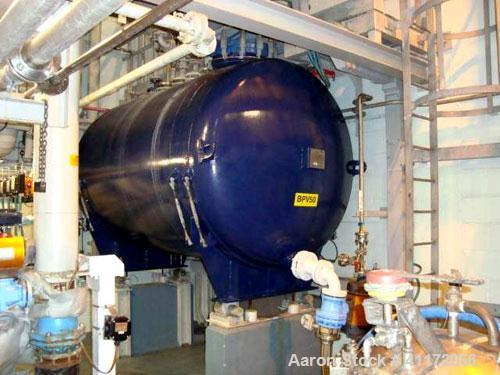 Used- Pfaudler Glass Lined Pressure Tank, Approximately 1847 Total Gallon (6,990 liter), Horizontal. Internal rated 6 bar/fu...