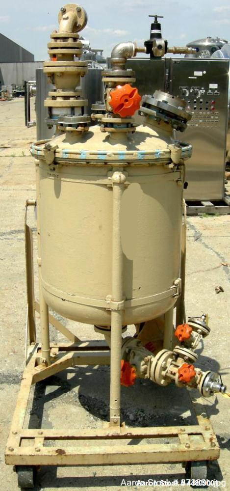 Used-50 Gallon Pfaudler Glass Lined Pressure Tank