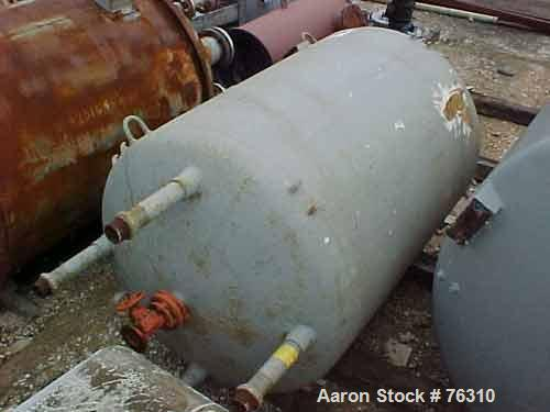 Used- 1000 Gallon Pfaudler Glass Lined Receiver