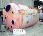 Used- Dedietrich Closed Glass Lined Receiver Tank, 3000 Gallon, Type 3008 Glass, Vertical. 86