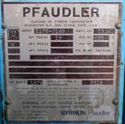 USED:Pfaudler glass lined pressure tank, 5 gallon, type 3315 glass,vertical. 12