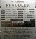 Used- Pfaudler Glass Lined Receiver Tank, 50 Gallon, 9115 Glass, Vertical. Approximately 24