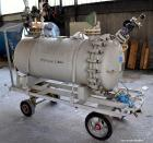 Used- 630 Liter Von Roll Glass Lined Pressure Tank