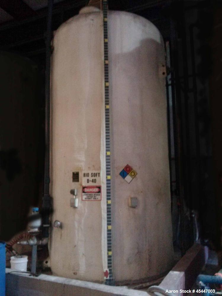 Used- 6,000 Gallon Fiberglass Tank