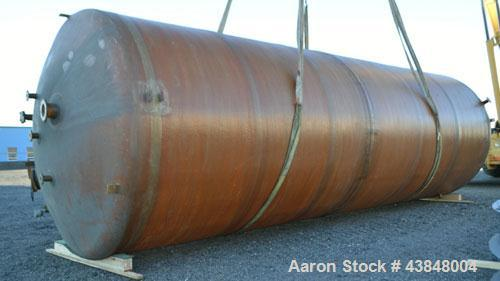 "Used- Air Plastics Fiberglass Storage Tank, 22036 Gallons, Vertical. Approximately 132"" diameter x 364"" straight side, dishe..."