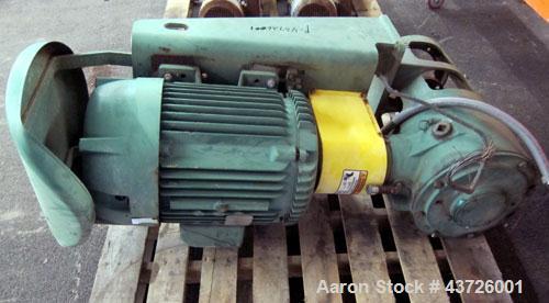 "Used- Plas-Tanks Industries Tank, 24,000 Gallon, Derakane 411-350 Resin, Vertical. 144""Diameter x 341"" straight side. Dished..."