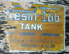 Used:  Resin Fab tank, 10,000 gallon, fiberglass, vertical. Approximately 144