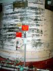 Used:  Resin Fab tank, 10,000 gallon, fiberglass, vertical. Approximate 144