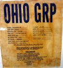 Used- Ohio GRP Fiberglass Storage Tank, 2000 Gallons, Vertical. Approximately 84