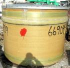 Used- Owens Corning 1000 Gallon Fiberglass Vertical Storage Tank.