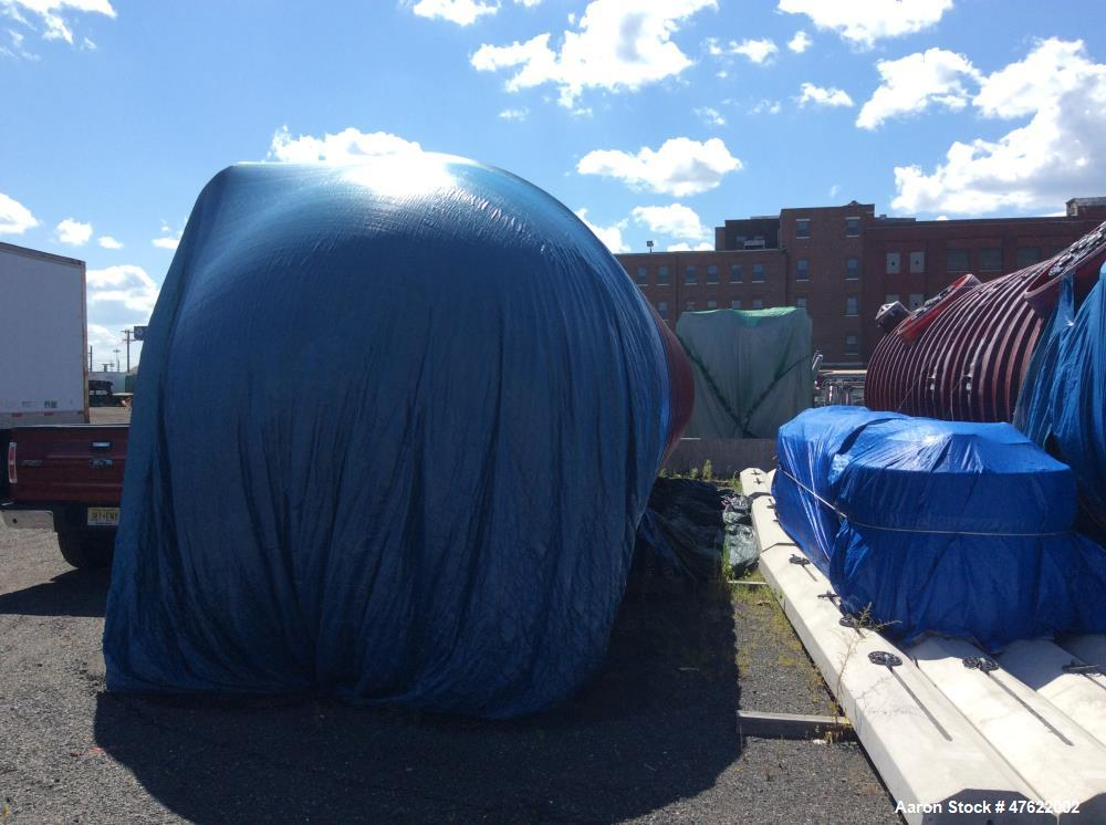 "Unused- Xerxes Double Wall 25,000 Gallon Fiberglass Fuel Tank. 10' double wall frp tank. (3) 22"" manway - dw, (3) 48"" contai..."