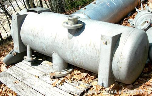 "Used-Used:Lipton pressure tank, 80 gallon, stainless steel, vertical. 20"" diameter x 56"" straight side. Dished bolt on top, ..."