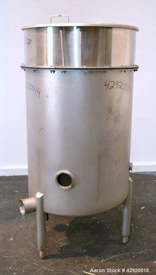 Used- 110 Gallon Stainless Steel Tank