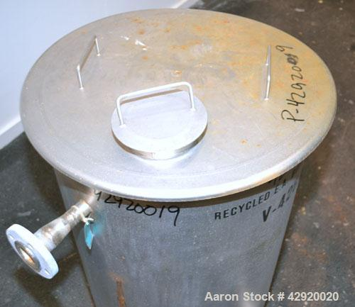 Used- 65 Gallon Stainless Steel Tank