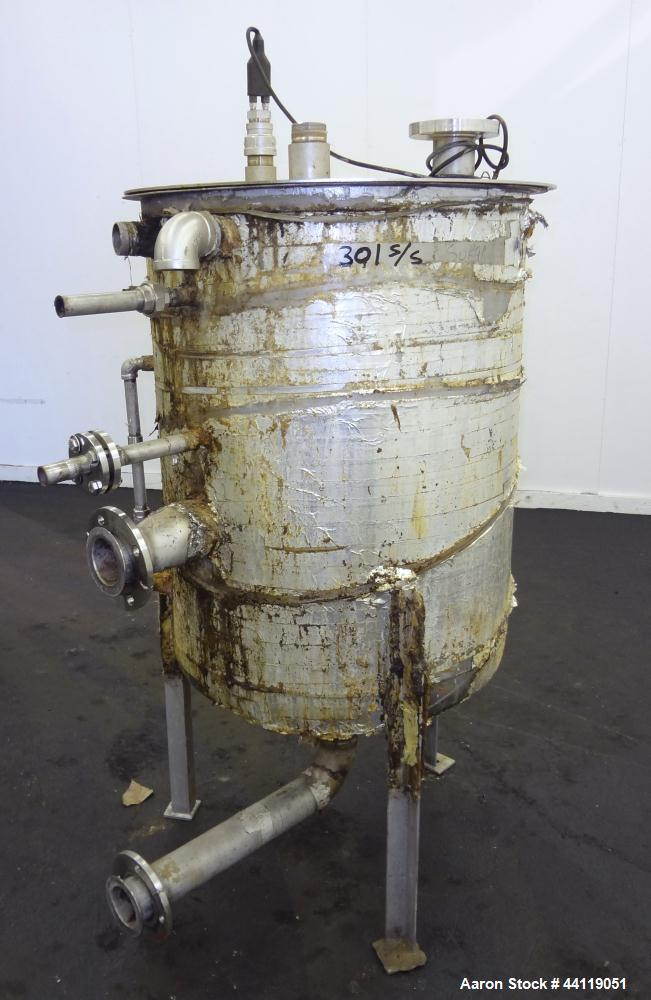 Used- 115 Gallon Stainless Steel Tank