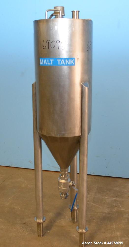 Used- 30 Gallon Stainless Steel Tank
