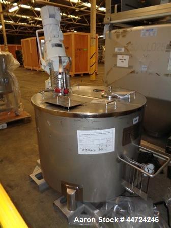 Used- 500 Liter Stainless Steel Tank