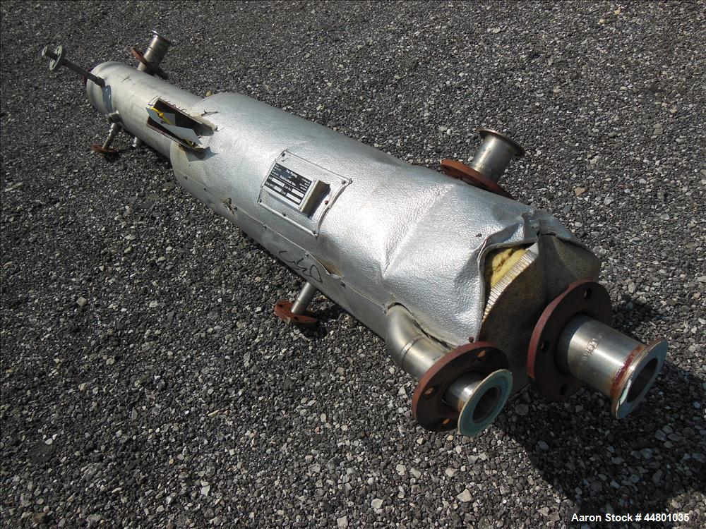 Used- 18 Gallon Stainless Steel Par Piping and Fabrication Receiver Tank