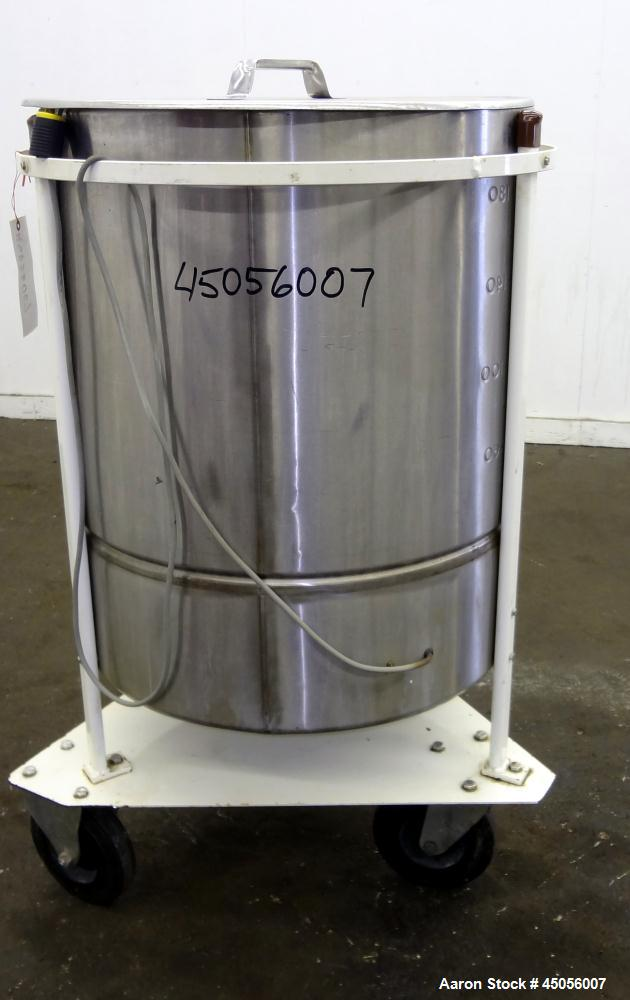 Used- 200 Liter Stainless Steel M.J.S. Tank