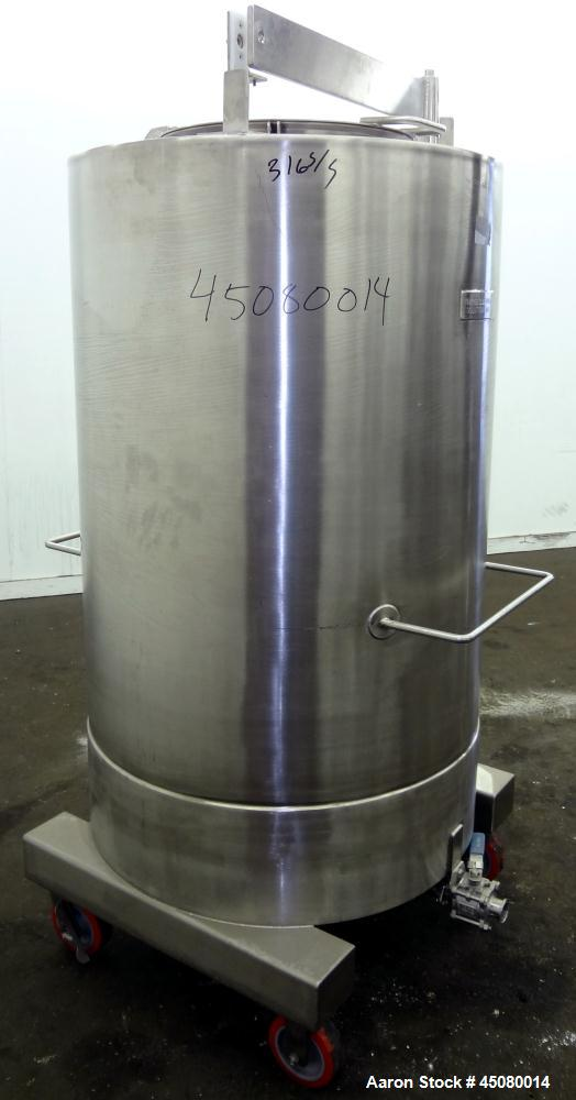 Used- 200 Gallon Stainless Steel Tank