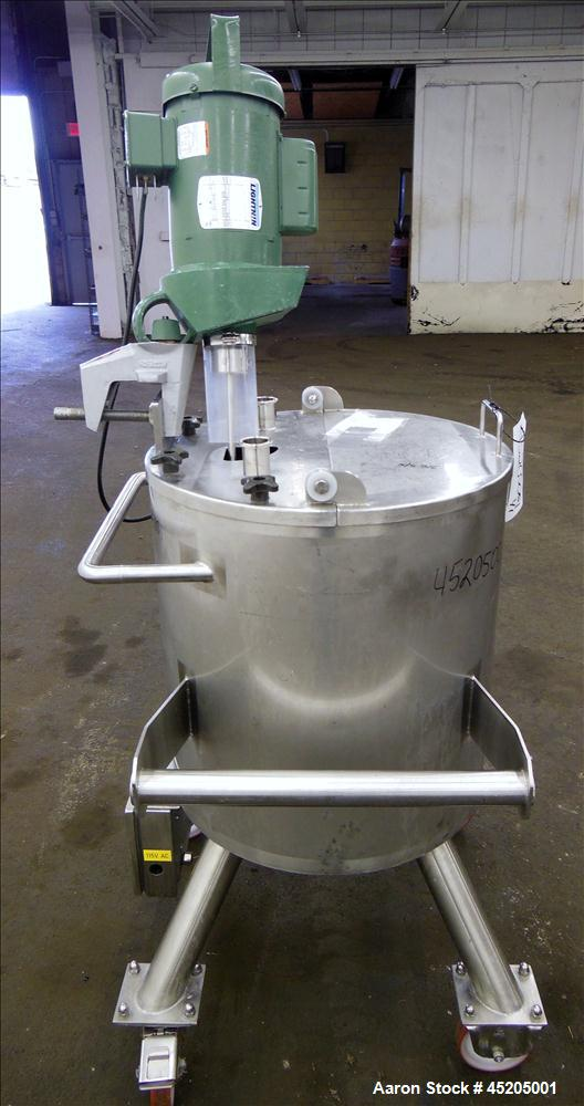 Used- 20 Gallon Stainless Steel Tank, Model XDA-33