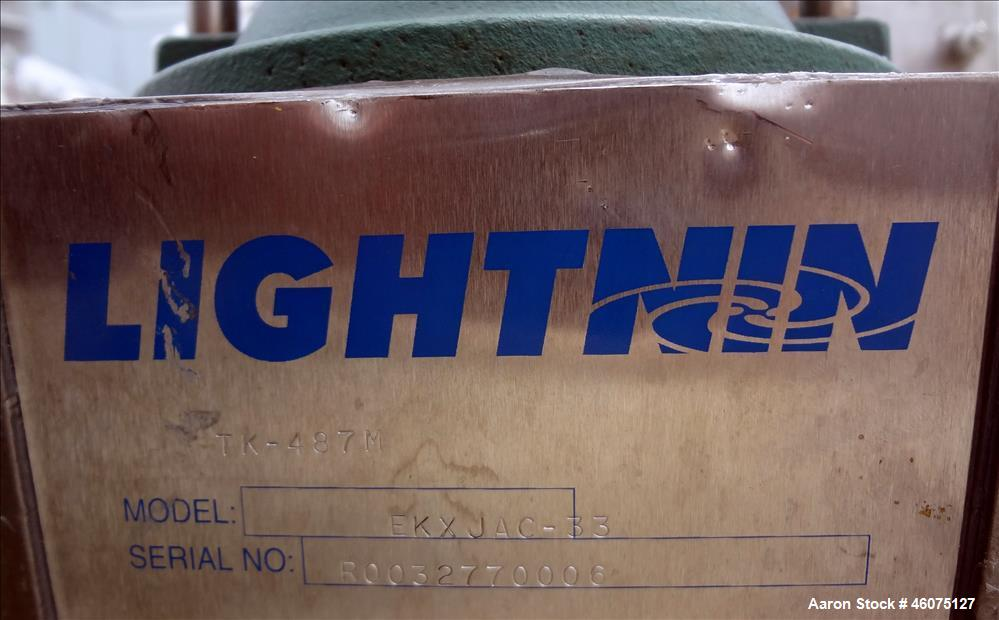 """Used- Tank, 225 Gallon, 304 Stainless Steel, Vertical. Approximate 36"""" diameter x 48"""" straight side, dished top & bottom. Li..."""