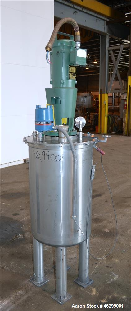 Used- Approximate 40 Gallon Stainless Steel Mix Tank