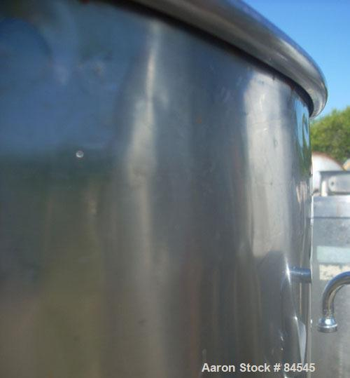 Used- 120 Gallon Stainless Steel Tank