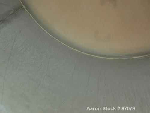 """USED: Tank, 275 gallon, 304 stainless steel, vertical. Approximate 36"""" diameter x 60"""" straight side. Flat top, dish bottom. ..."""
