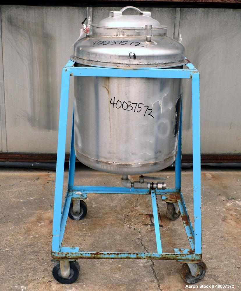 Used- 50 Gallon Stainless Steel Allcraft Pressure Tank