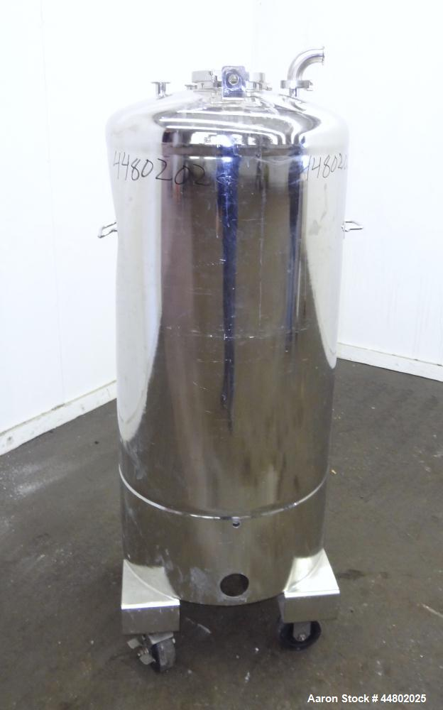 Used- 70 Gallon Stainless Steel Alloy Products Pressure Tank