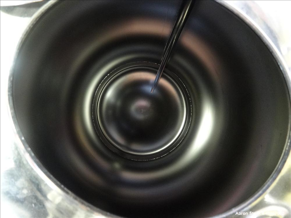 """Used- Alloy Products Pressure Tank, 30 Gallons, 316L Stainless Steel, Vertical. 17-1/2"""" diameter x 29"""" straight side. Dished..."""