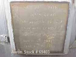 """Used- Art Welding Therminol Expansion Tank, 90 Gallon, Carbon Steel. 24"""" Diameter x 3'9"""" straight side, dish top and bottom,..."""
