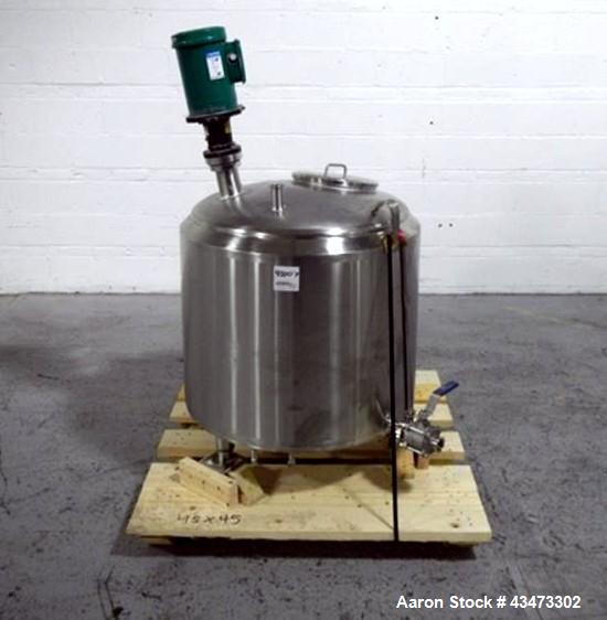 Used- 70 Gallon Stainless Steel Cherry Burrel Mix Tank
