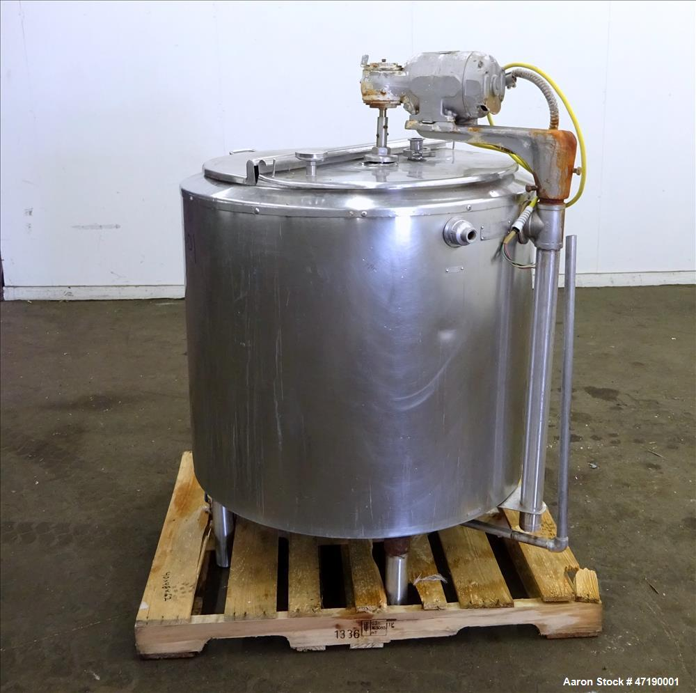 Used- Damrow Brothers Kettle, 100 Gallon, Model 100GAL, Type V, 304 Stainless St