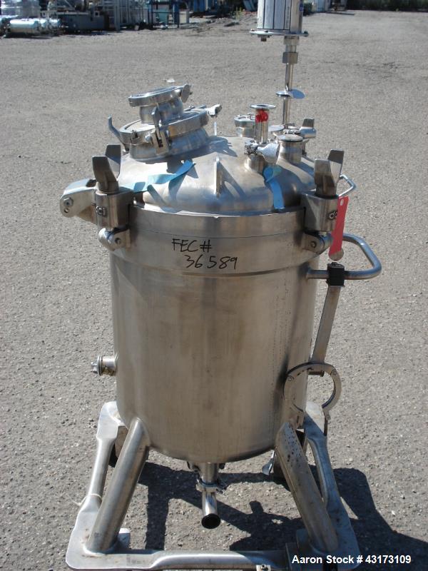 Used- 85 Liter Stainless Steel DCI Pressure Tank