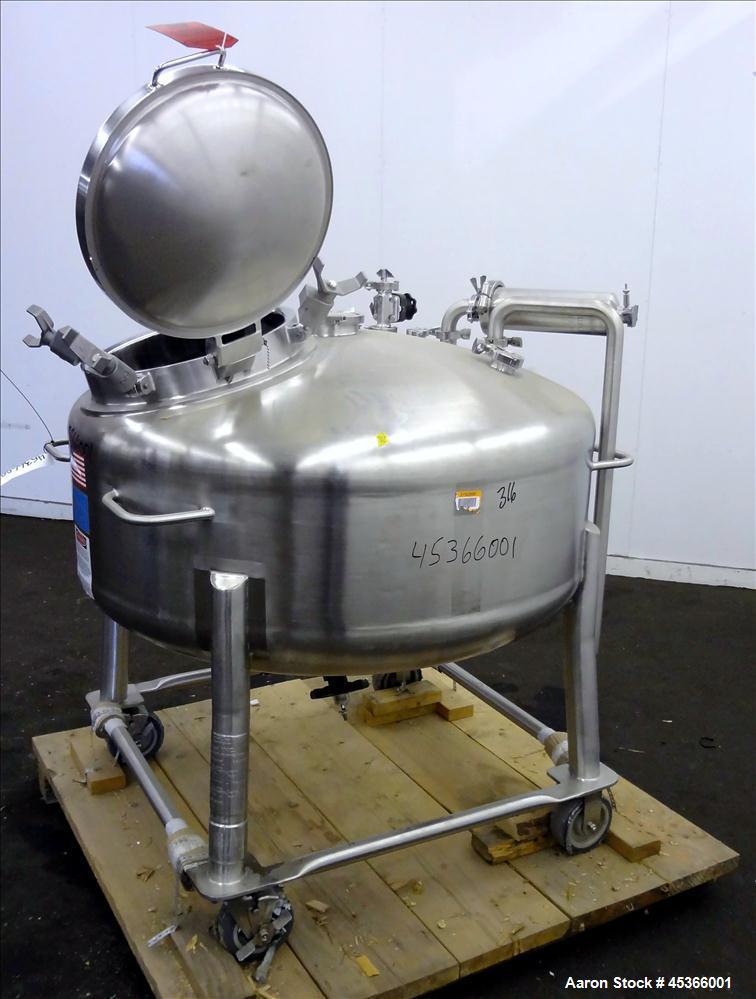 Used- 400 Liter Stainless Steel DCI Pressure Tank,