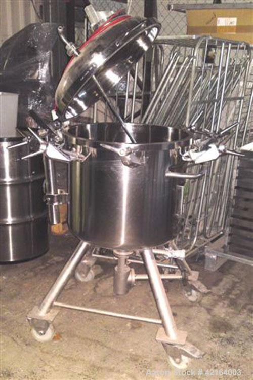 Used- 48 Gallon Diessel Stainless Steel Tank