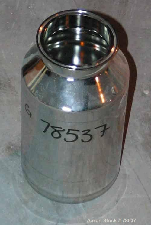 Used- 5 Liter Stainless Steel Eagle Pressure Tank