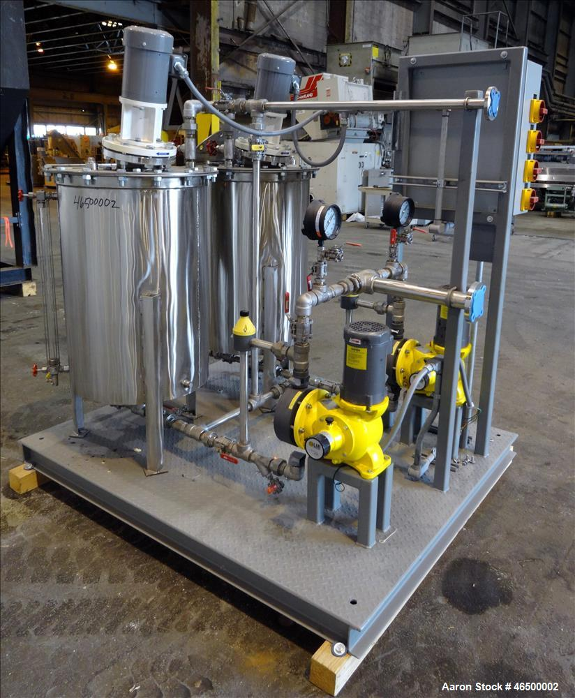 Used- Envirosep Mixing/Pumping System, Model 2S-MW-CF1