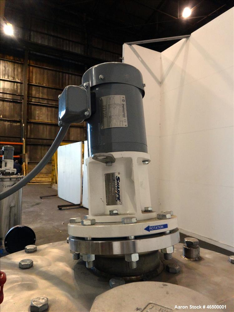 Used- EnviroSep Packaged Mixing & Pumping System, Model 2S-MW-CF1. Consists of: (2) Tanks, each approximate 70 gallon, 304 s...