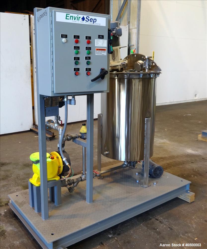Used- EnviroSep Mixing/Pumping System, Model GTR-MW-EQ1