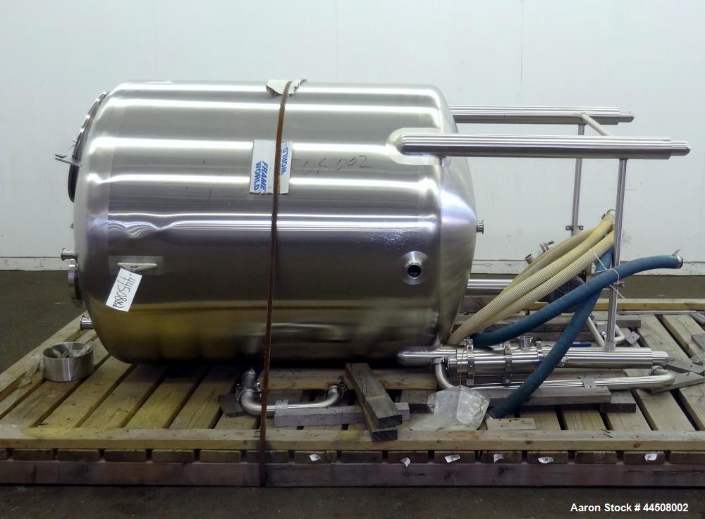 Used- 400 Gallon Stainless Steel Feldmeier Tank, Model 132RS133
