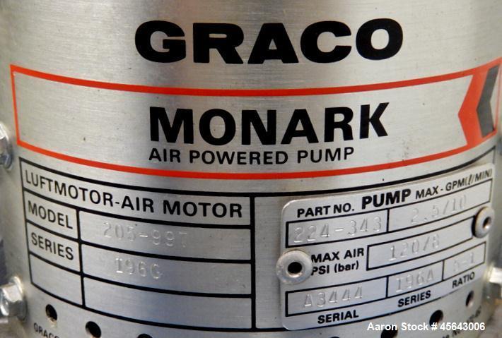 Used- Graco Monarch Model 242 Spray System