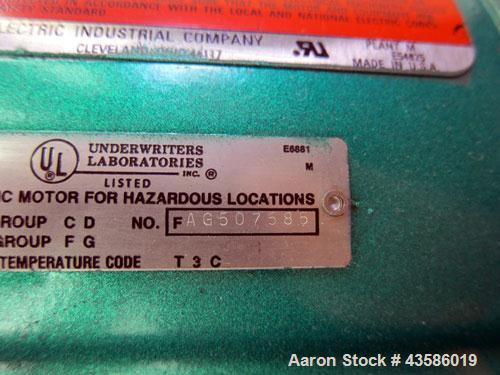 """Used- Graco Mixing System consisting of: (1) Graco tank, 45 gallon, 304 stainless steel. 24"""" Diameter x 21"""" straight side, o..."""