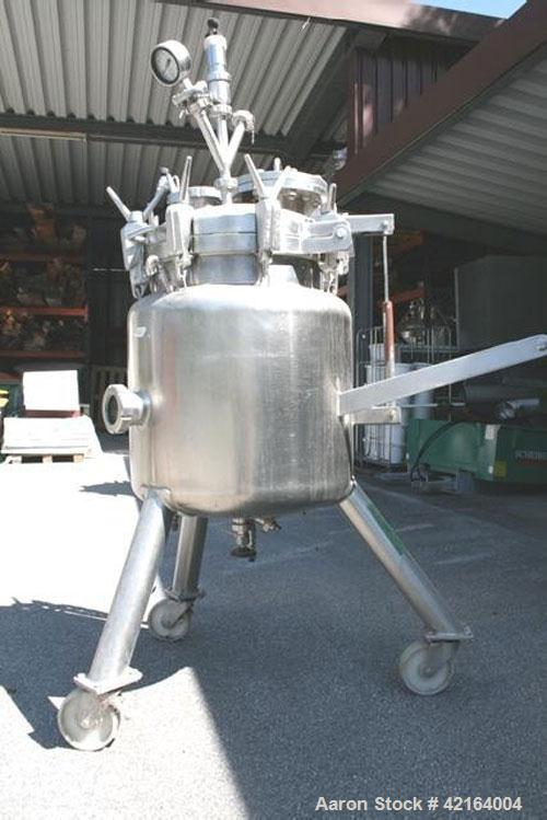 Used- 38 Gallon Grill and Grossmann Stainless Steel Tank