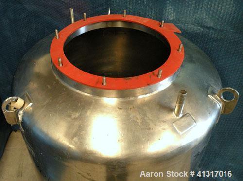 Used- 120 Gallon Stainless Steel Groen Pressure Tank, Model 120 GAL SP