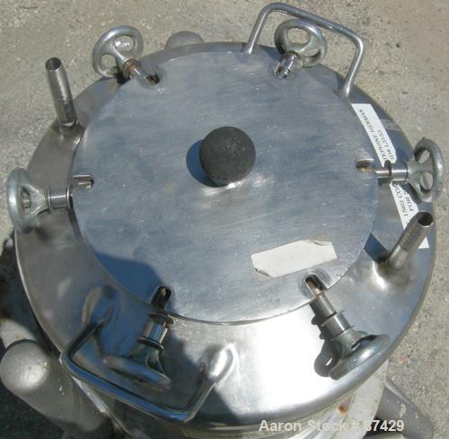 Used- Groen Tank, 18 Gallon, 316 Stainless Steel