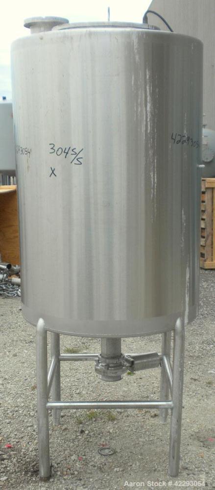 Used- 180 Gallon Stainless Steel Hartel Tank