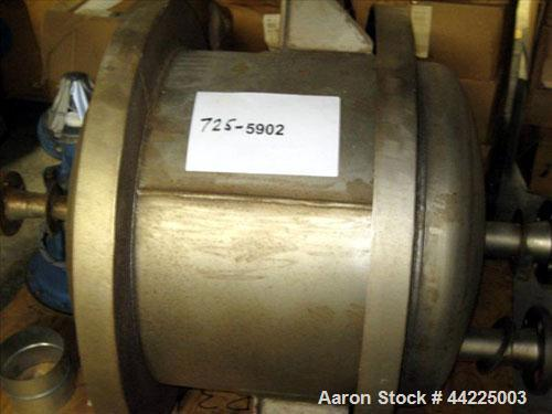 """Used- Industrial Process Pressure Tank, 25 Gallons. 22"""" Diameter x 17"""" straight side, dished top and bottom. Internal rated ..."""